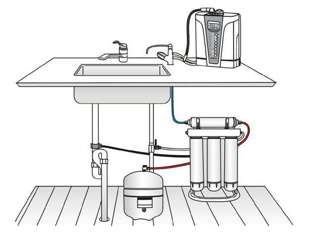 Purepro 174 Pre Filtration System For Water Ionizer Ers 105 Nf